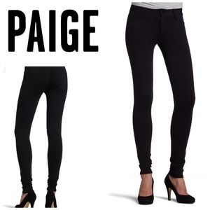 Paige💕Black Peggy Sue Skinny Jegging Skinny Pant